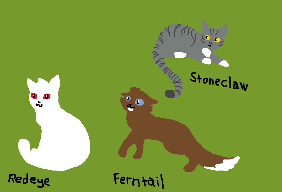 Ivypool and Foxleap s kits by pussipiruIvypool And Foxleap