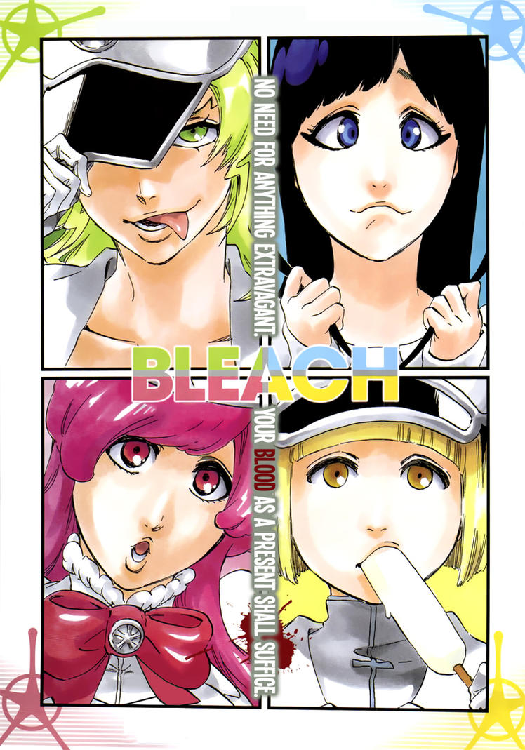 Bleach Chapter 581 Color Page By Cypress101 On DeviantArt