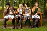 Attack on Titan - Attack on Bench @ Ayacon 2013