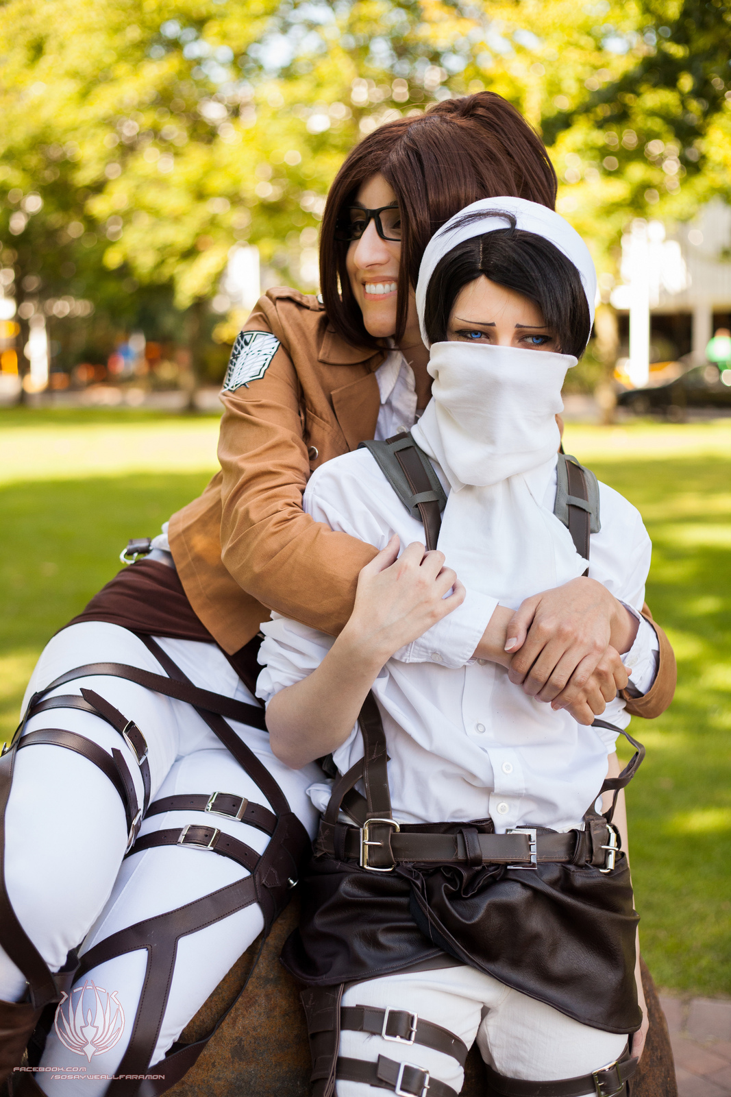 Attack on Titan - Hanji/Levi - WHY YOU NO LOVE ME by faramon