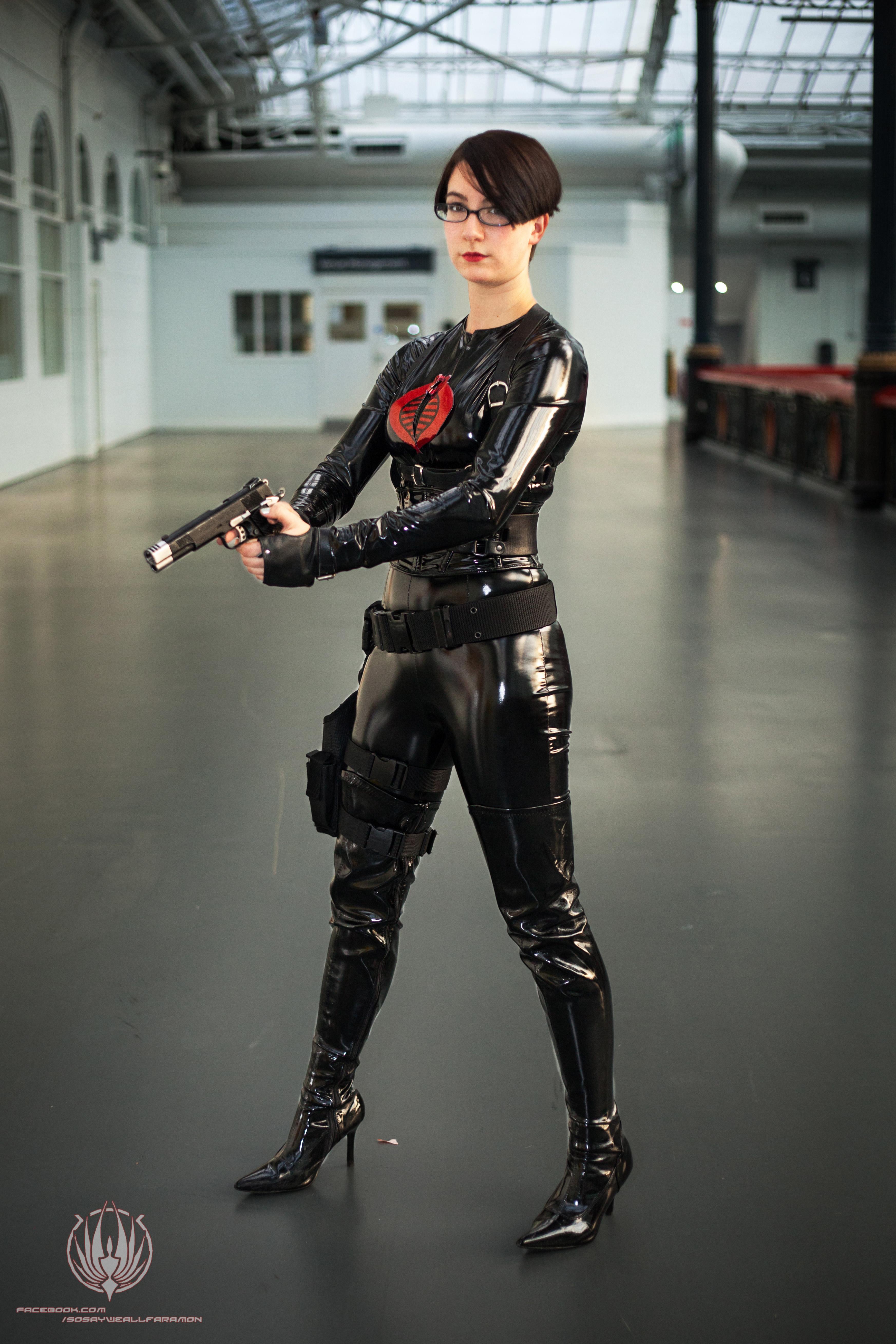 G.I. Joe - Baroness Full Shot by faramon