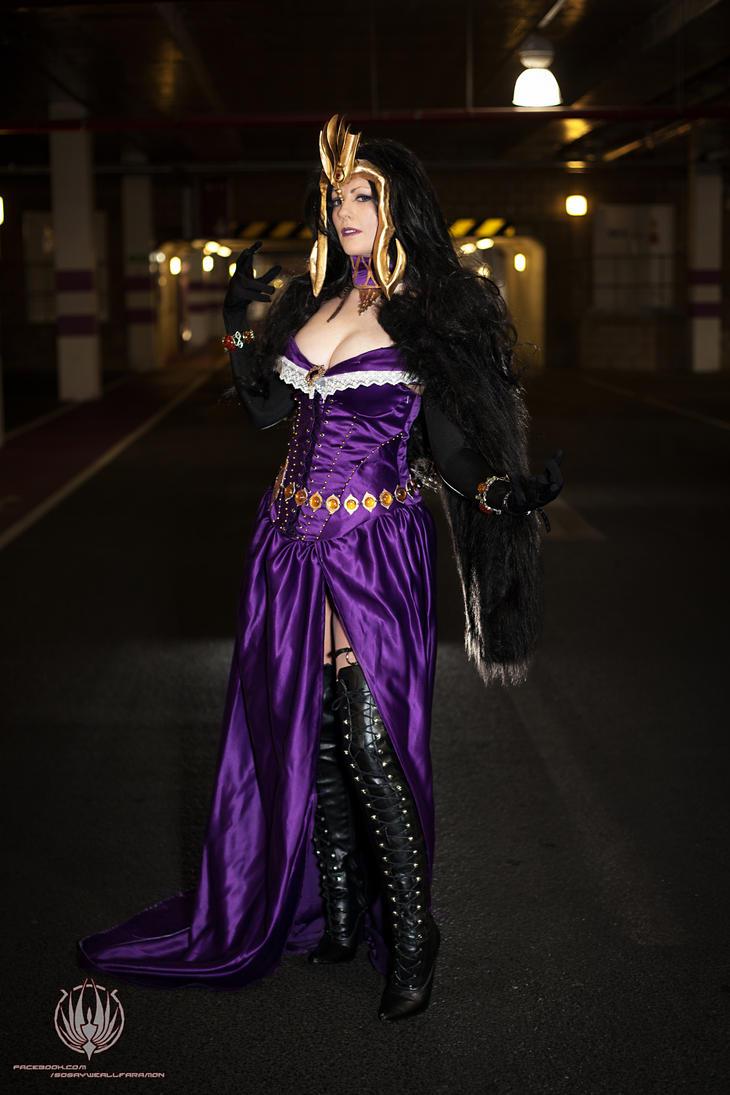Liliana Vess - Planeswalker - Temptress Necromancy by faramon