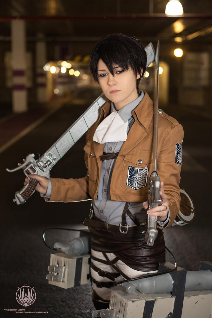 Attack on Titan - Levi Ready! by faramon