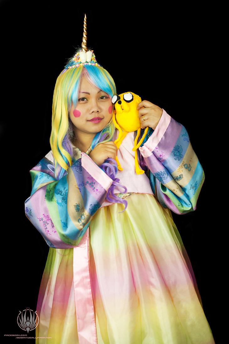 Adventure Time - Lady Rainicorn Cosplay by faramon