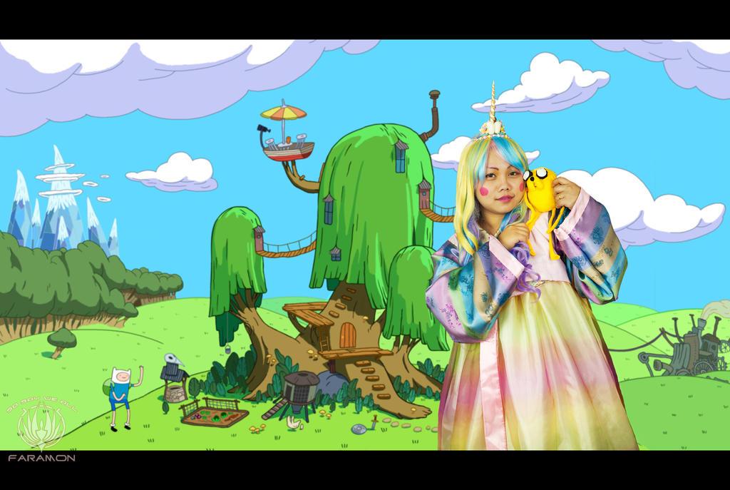 Adventure Time - Lady Rainicorn More Maths by faramon