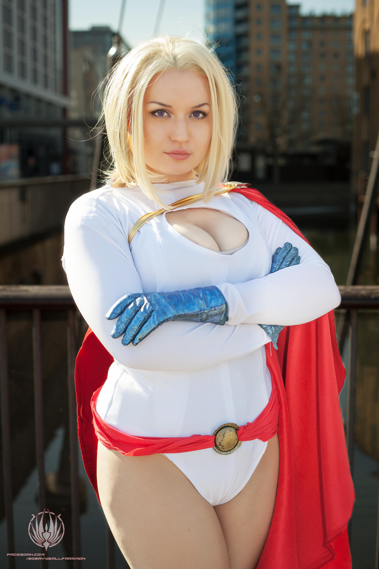 Supergirl sexy big costume tits