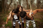 Attack on Titan - Eren .. Levi Wait Up!