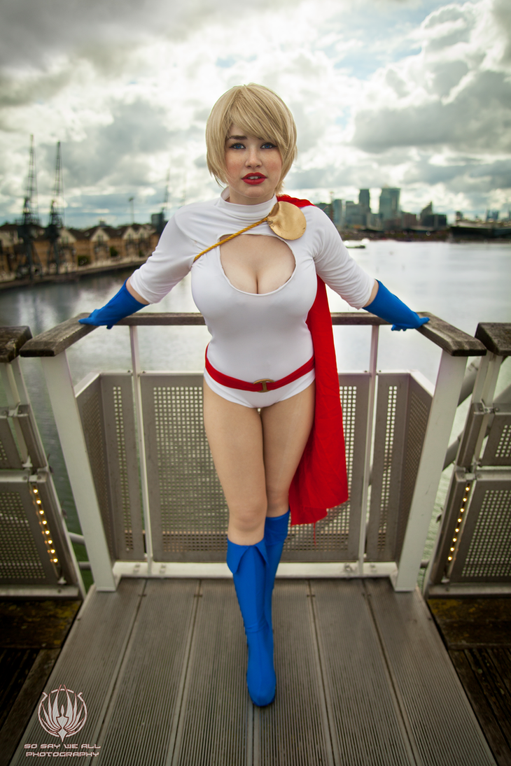 Bridge Over Troubled Water - Power Girl by faramon