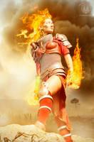 Chandra Nalaar - Burnt Skies by faramon
