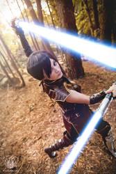 Satele Shan - Star Wars Cospay - Singularity by faramon