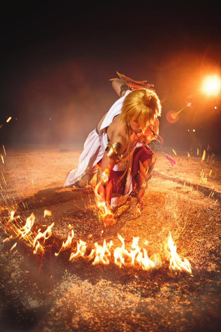Flaming Strike by faramon