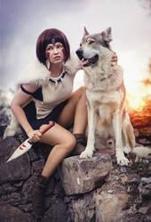 San - Princess Mononoke - Wolfhound and All