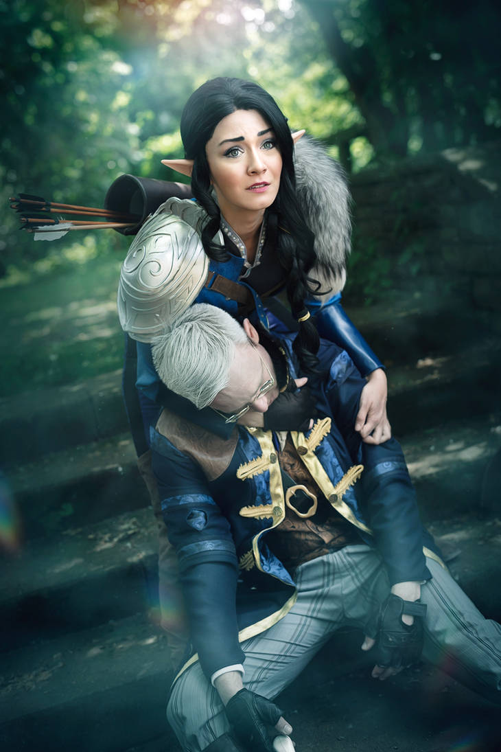 In the End - Vex and Percy Critical Role Cosplay by faramon
