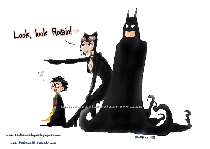 Look look Robin! Bat - Cat - Bird by FuSSsL ...  sc 1 st  DeviantArt & Look look Robin! Bat - Cat - Bird by FuSSsL on DeviantArt