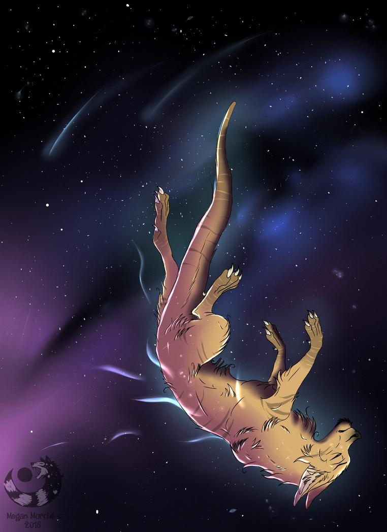 Falling stars by Tartoche