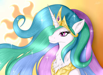 Celestia (Birthday Gift) by TheBenAlpha