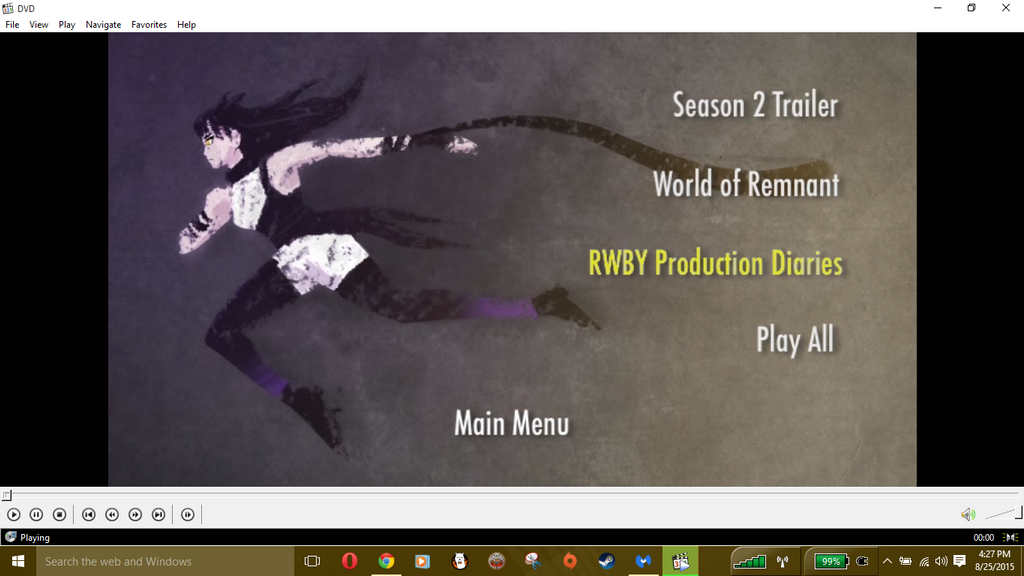 RWBY Vol 2 Special Features by necrohunter7