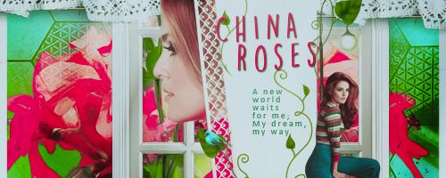 China Roses by Viilenia