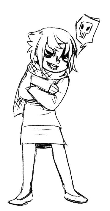 Hikaru doodle by RabidK-9