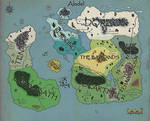 Lands of Alodel - Region Map