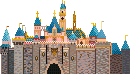 Sleeping Beauty's Castle Disneyland Pixel
