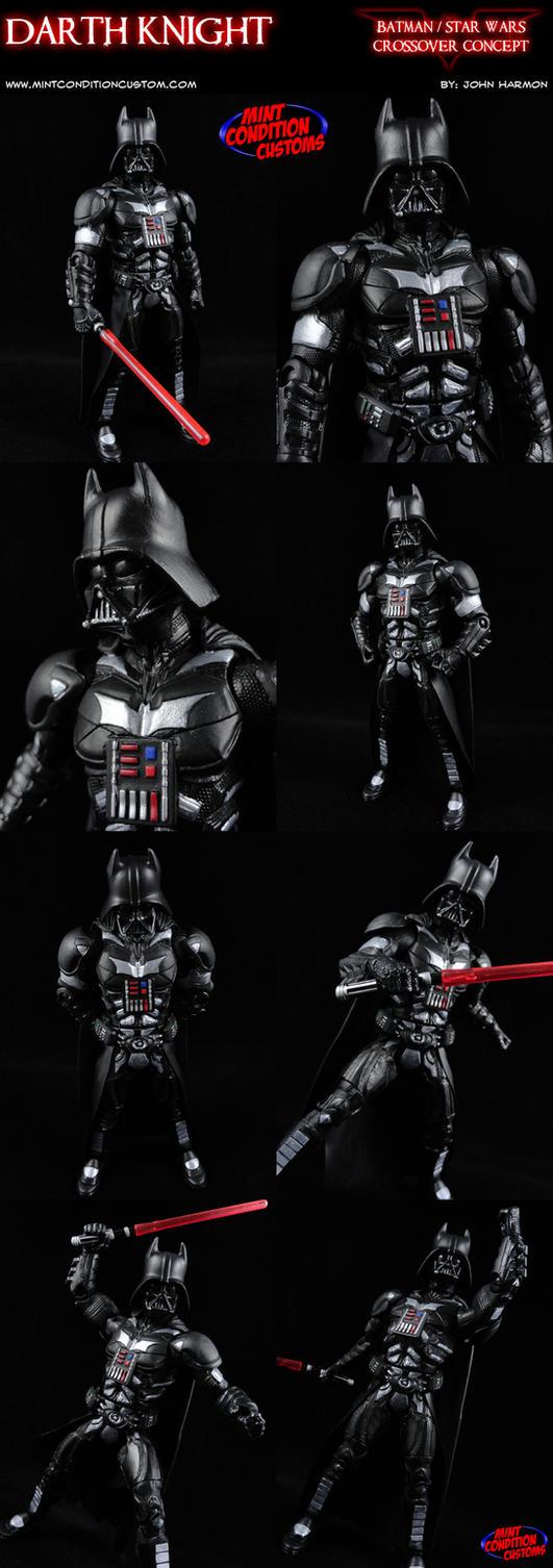Custom Darth Knight (Batman/Darth Vader Mashup) by MintConditionStudios
