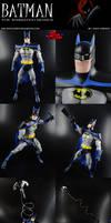 Batman (Animated Series Style) Custom Figure