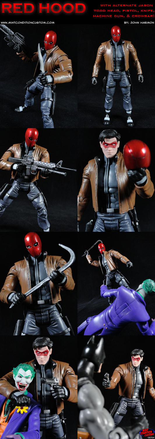 Custom Red Hood (Jason Todd) Action Figure by MintConditionStudios