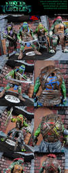TMNT 2014 Movie Accurate Repaints by MintConditionStudios