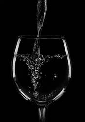 Glass of Water #Hyper realism