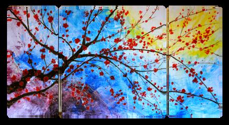 Spring Branch by StefanMarcuArt