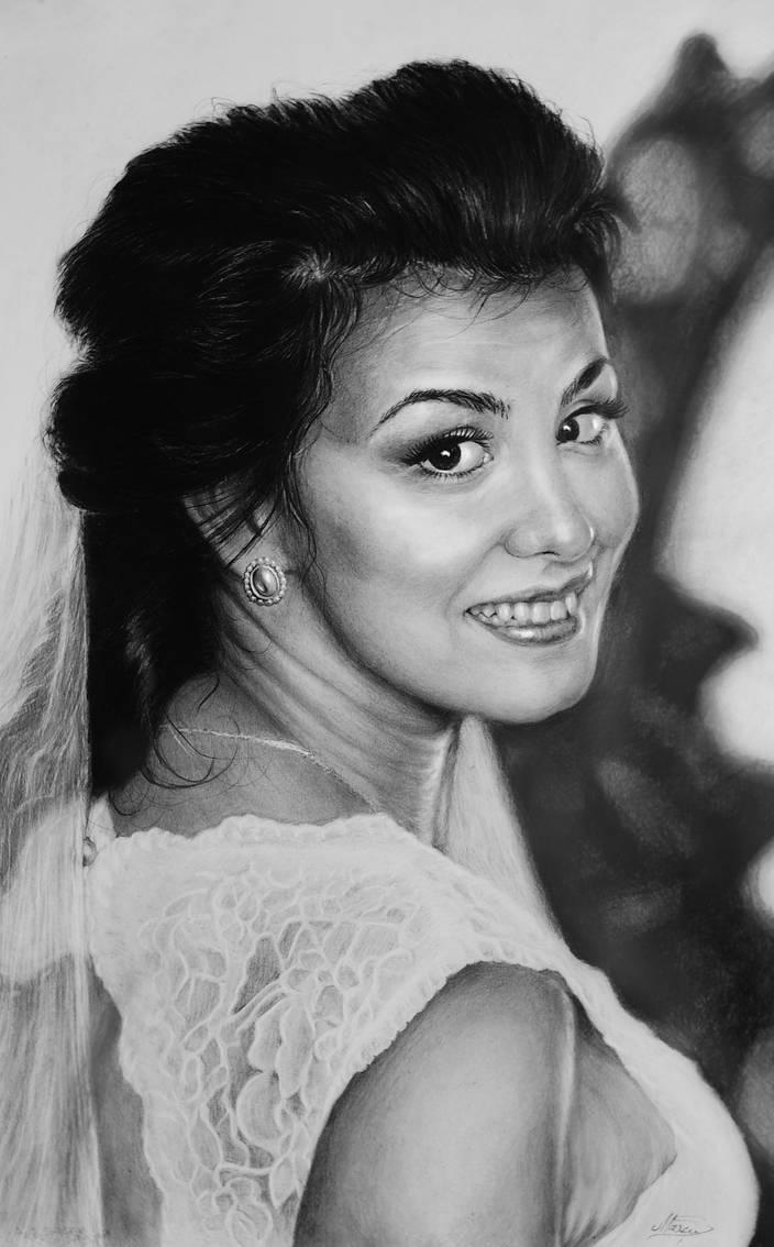 Beautiful Bride #Hyperrealism