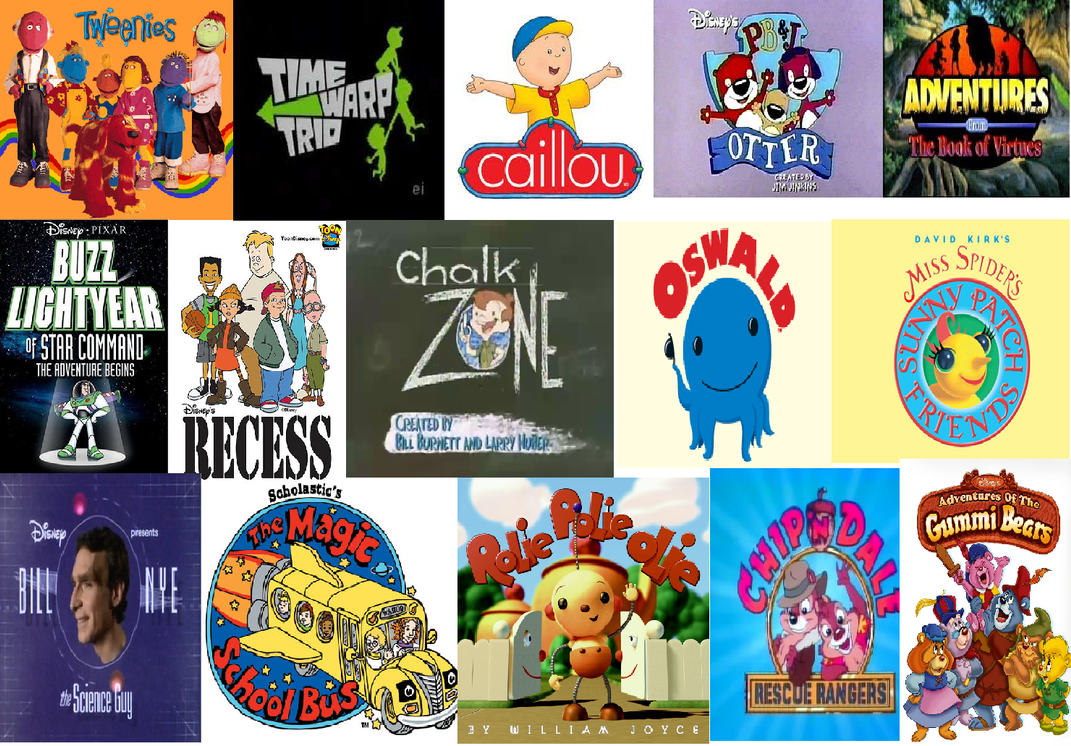 Top 50 kids show part 1 by princess rosella on deviantart for Craft shows on tv