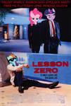 'Lesson Zero' movie Poster.