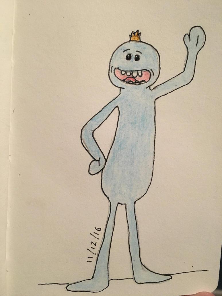 Mr Meeseeks by EvaMonkey