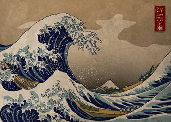 The Great Wave by harlanm