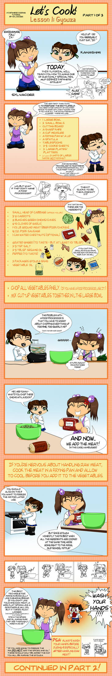 Let's Cook: Gyouza -Tut.1of3-