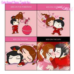 Cute Kissx4 Meme: Tyzula Ver. by sylvacoer