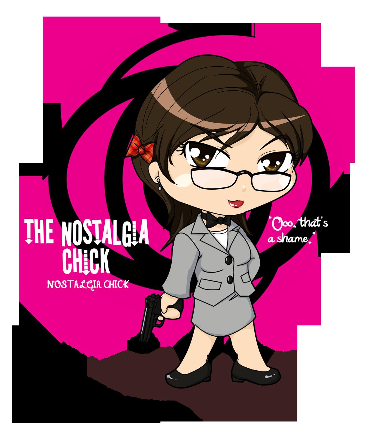 Kickassia: Nostalgia Chick by sylvacoer on DeviantArt