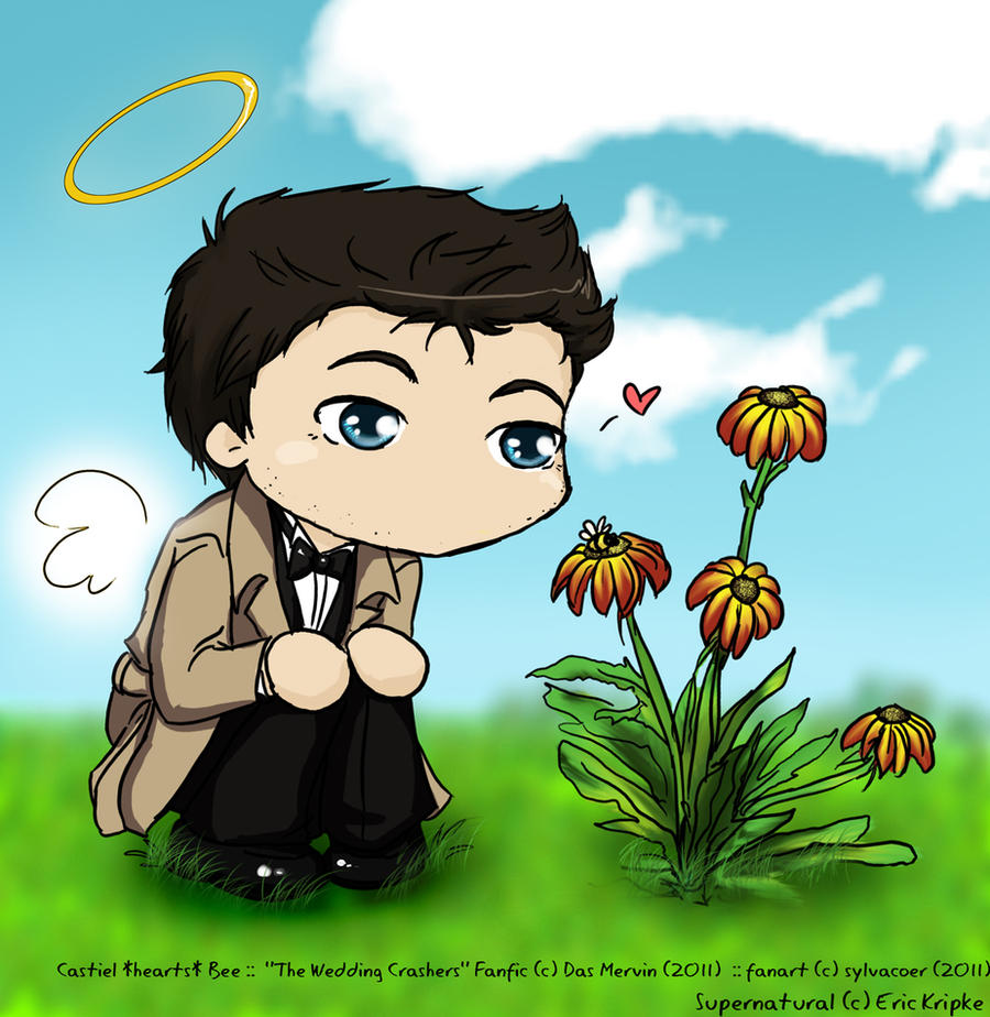Castiel -hearts- Bee by sylvacoer