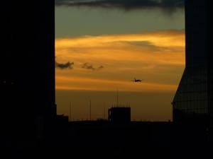 Sunset in Osaka 01
