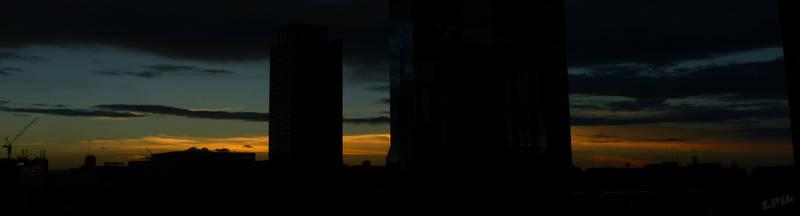 Sunset in Osaka 02