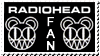 RADIOHEAD STAMP by A44Design
