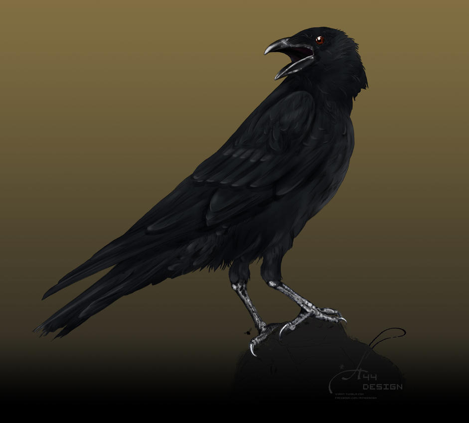 Dusk Crow by A44Design