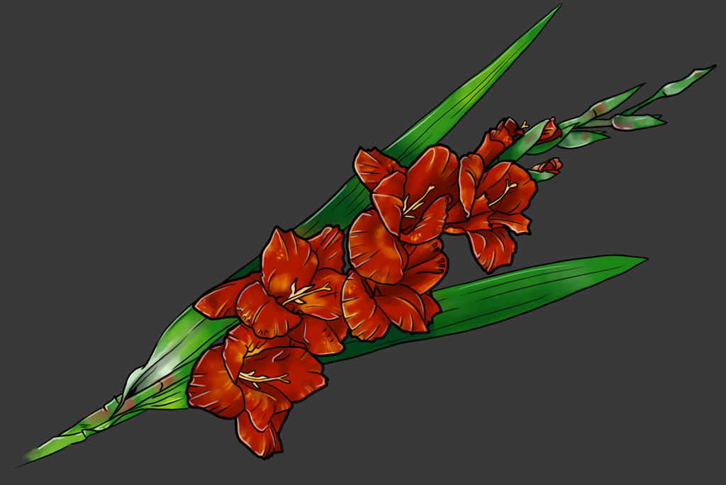 Comic Flowers practice by A44Design
