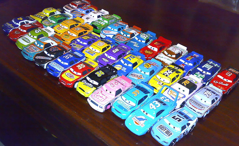 All Of My Piston Cup Racers By Master55 On Deviantart