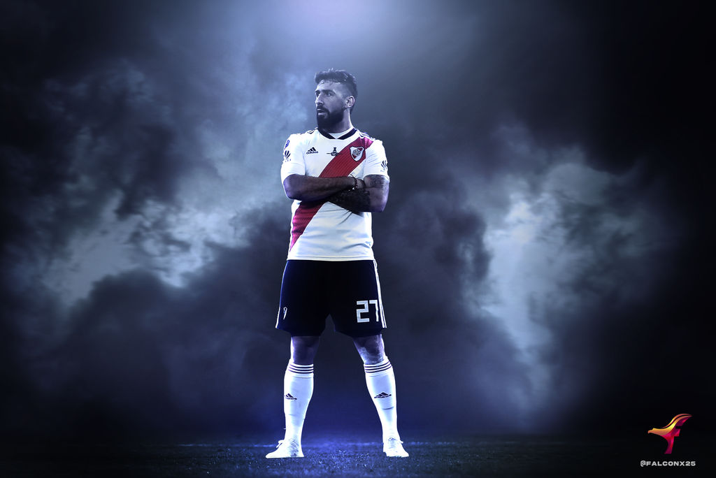 Lucas Pratto River Plate By Toxic25 On Deviantart