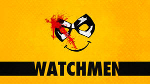 Minimalist Watchmen Wallpaper : The Comedian