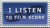 Film Score Stamp