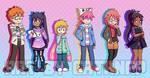 Digimon Debug - The Kids by Barghestmon